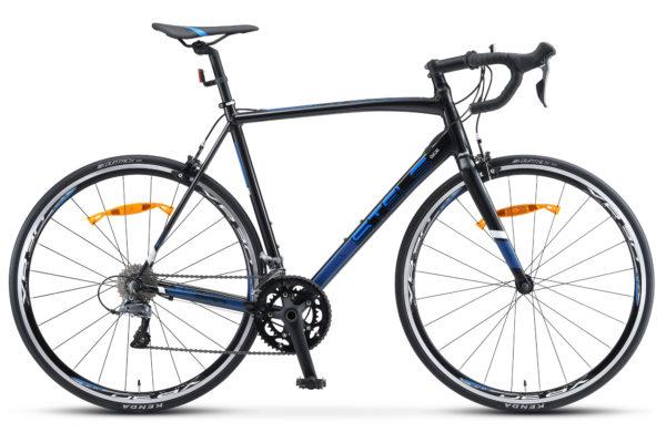 "XT300 28 V010 black blue 1 600x390 - Велосипед Стелс (Stels) XT300 28""  V010  700С , Алюминий X6, р. 23"", цвет   Чёрный/синий"