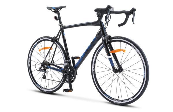 "XT300 28 V010 black blue 2 1 600x390 - Велосипед Стелс (Stels) XT300 28""  V010  700С , Алюминий X6, р. 23"", цвет   Чёрный/синий"