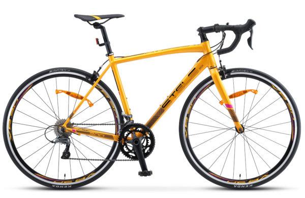 "XT300 28 V010 golden black 600x390 - Велосипед Стелс (Stels) XT300 28""  V010  700С , Алюминий X6, р. 20"", цвет  Золотистый/чёрный"