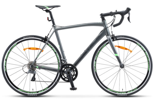 "XT300 28 V010 gray green 600x390 - Велосипед Стелс (Stels) XT300 28""  V010  700С , Алюминий X6, р. 21,5"", цвет  Серый/зелёный"