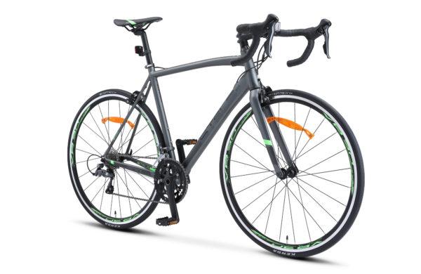 "XT300 28 V010 gray green 2 600x390 - Велосипед Стелс (Stels) XT300 28""  V010  700С , Алюминий X6, р. 21,5"", цвет  Серый/зелёный"