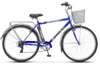 "dzhent siniy 350 350x228 - Велосипед Стелс (Stels) Navigator-350 Gent 28"" Z010 , Сталь , р. 20"", цвет Синий"